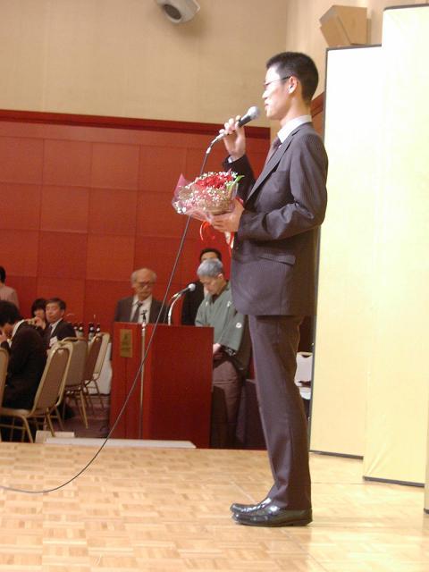 2010/05/03 牧野新四段 ご挨拶